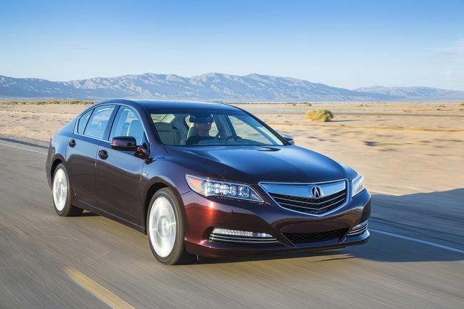 Acura RLX Sport Hybrid SH-AWD: Sang, nhanh và tiết kiệm xăng 7