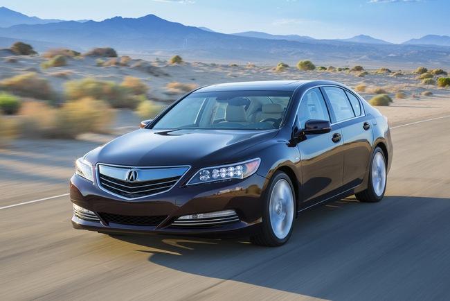 Acura RLX Sport Hybrid SH-AWD: Sang, nhanh và tiết kiệm xăng 1
