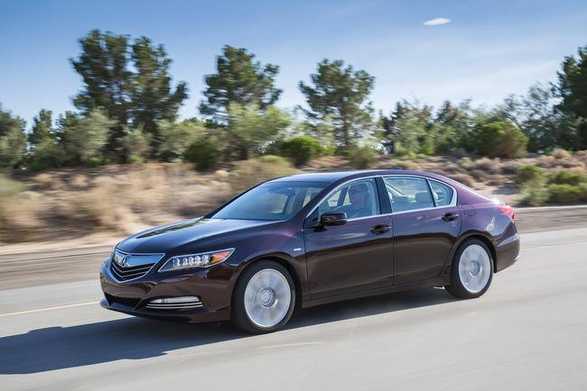 Acura RLX Sport Hybrid SH-AWD: Sang, nhanh và tiết kiệm xăng 8