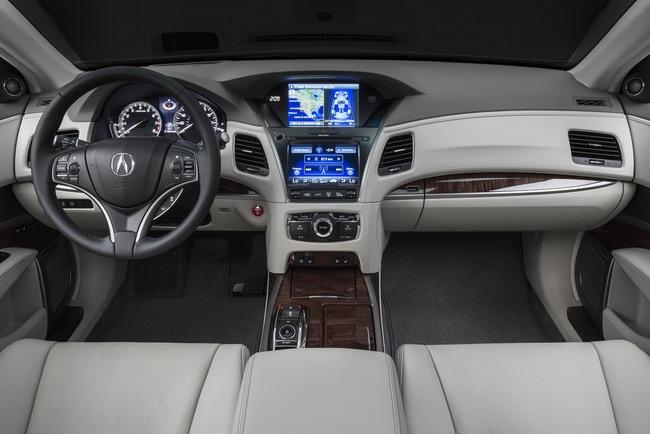 Acura RLX Sport Hybrid SH-AWD: Sang, nhanh và tiết kiệm xăng 9
