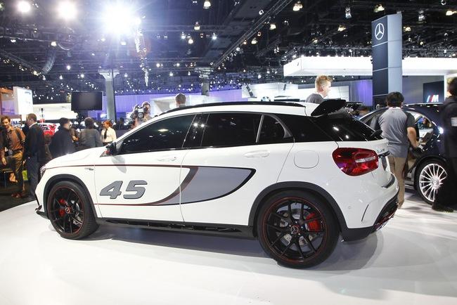 Mercedes-Benz trình làng crossover thể thao GLA45 AMG 3