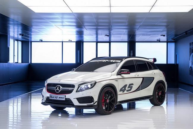 Mercedes-Benz trình làng crossover thể thao GLA45 AMG 1