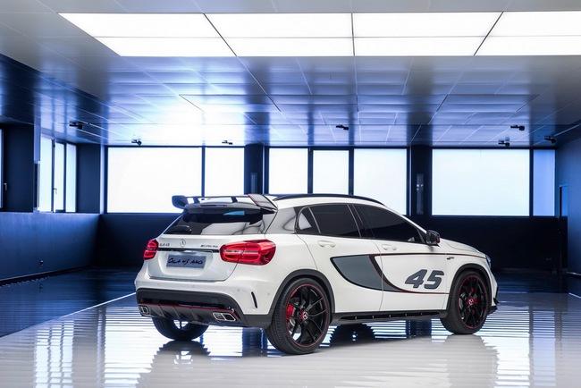 Mercedes-Benz trình làng crossover thể thao GLA45 AMG 4