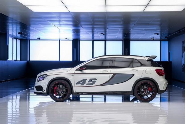 Mercedes-Benz trình làng crossover thể thao GLA45 AMG 5
