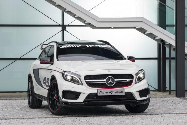 Mercedes-Benz trình làng crossover thể thao GLA45 AMG 6
