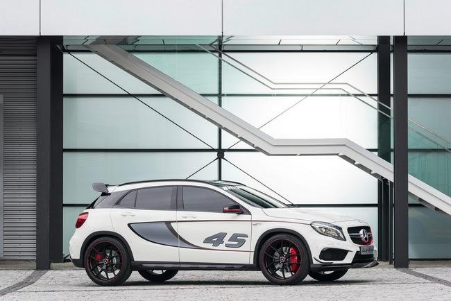 Mercedes-Benz trình làng crossover thể thao GLA45 AMG 7