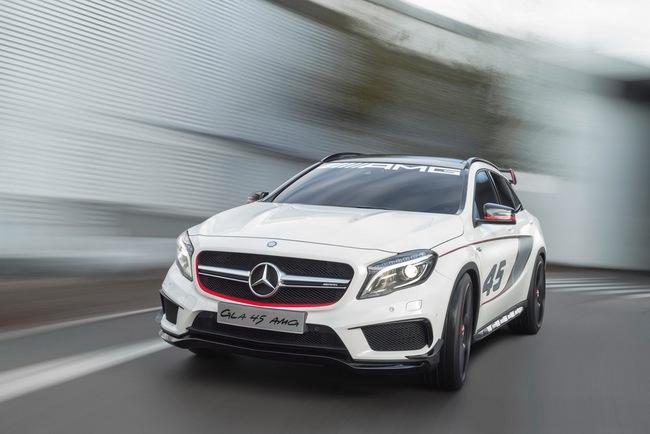 Mercedes-Benz trình làng crossover thể thao GLA45 AMG 9