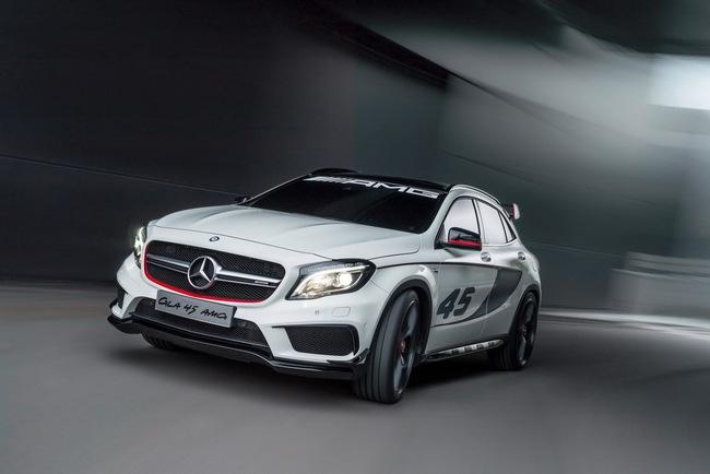 Mercedes-Benz trình làng crossover thể thao GLA45 AMG 10
