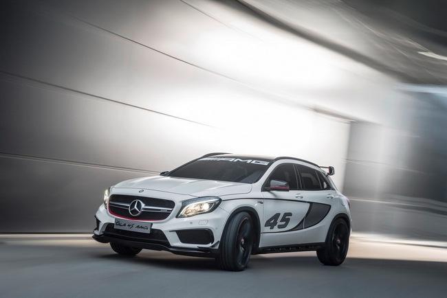 Mercedes-Benz trình làng crossover thể thao GLA45 AMG 11
