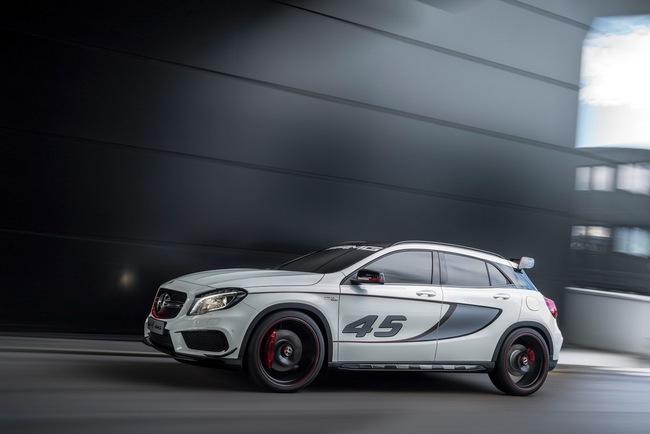 Mercedes-Benz trình làng crossover thể thao GLA45 AMG 12