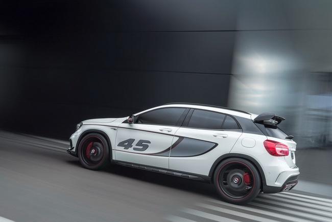 Mercedes-Benz trình làng crossover thể thao GLA45 AMG 13