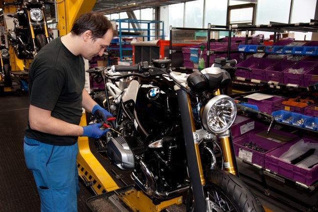BMW R nineT đi vào sản xuất 6
