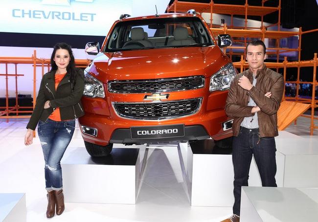 Chevrolet Colorado 2014 ra mắt tại Thái Lan 1