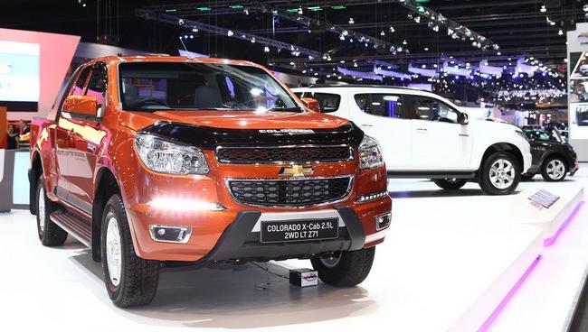 Chevrolet Colorado 2014 ra mắt tại Thái Lan 2
