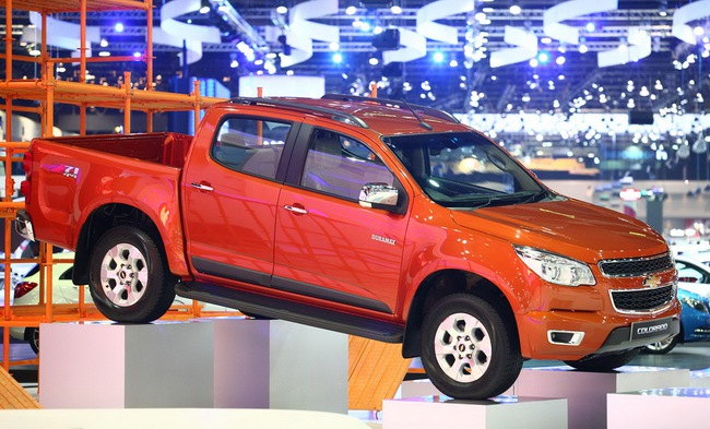 Chevrolet Colorado 2014 ra mắt tại Thái Lan 3
