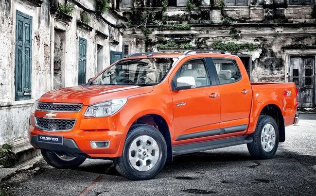 Chevrolet Colorado 2014 ra mắt tại Thái Lan 4