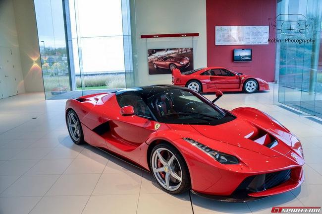 Siêu xe Ferrari LaFerrari đầu tiên đến Bỉ 4