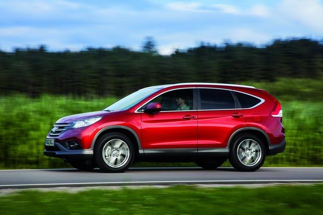 Honda CR-V 1.6 Diesel tiết kiệm nhiên liệu không ngờ 6