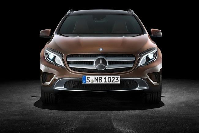 Mercedes-Benz bắt đầu nhận đơn đặt hàng cho GLA-Class 1