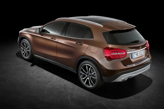 Mercedes-Benz bắt đầu nhận đơn đặt hàng cho GLA-Class 4