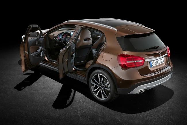 Mercedes-Benz bắt đầu nhận đơn đặt hàng cho GLA-Class 5