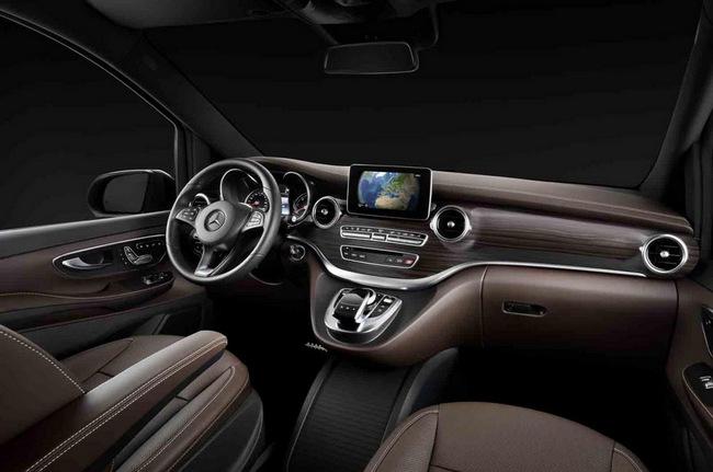 Mercedes-Benz hé lộ hình ảnh V-Class 2014 2