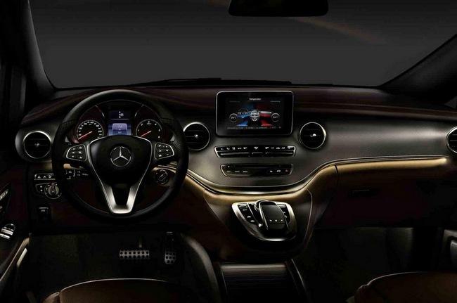 Mercedes-Benz hé lộ hình ảnh V-Class 2014 4