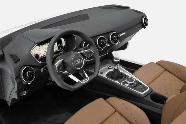 Audi TT thế hệ mới sẽ có nội thất siêu hiện đại 2