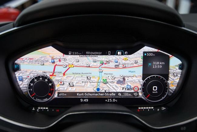 Audi TT thế hệ mới sẽ có nội thất siêu hiện đại 1