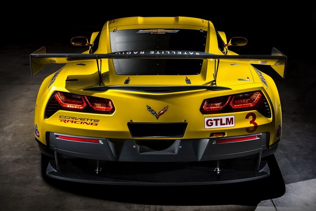Xế đua Chevrolet Corvette C7.R chính thức trình làng 5
