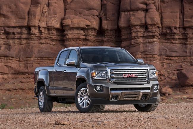 """GMC Canyon: """"Anh em"""" của Chevrolet Colorado 8"""