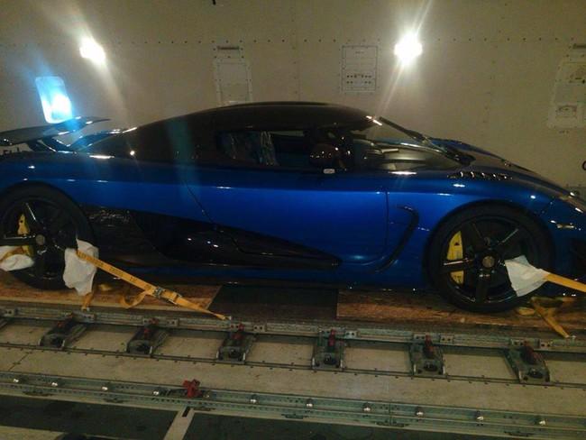 Siêu xe Koenigsegg Agera đầu tiên cập bến Mỹ 2