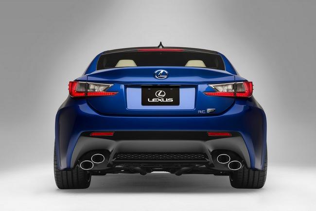 Lexus RC F Coupe trình làng tại Detroit Auto Show 2
