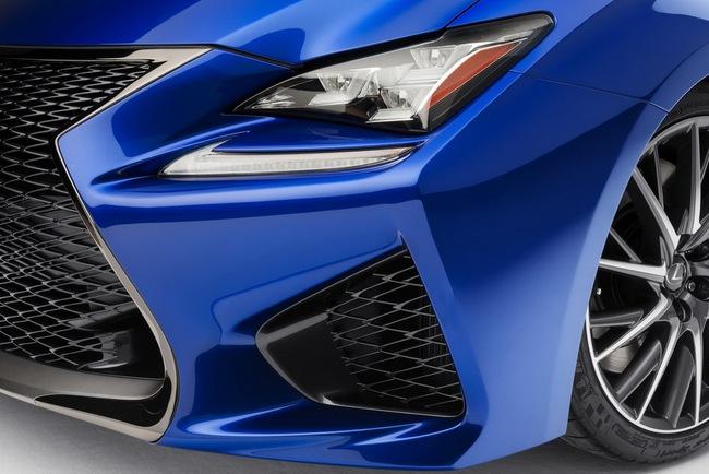 Lexus RC F Coupe trình làng tại Detroit Auto Show 8