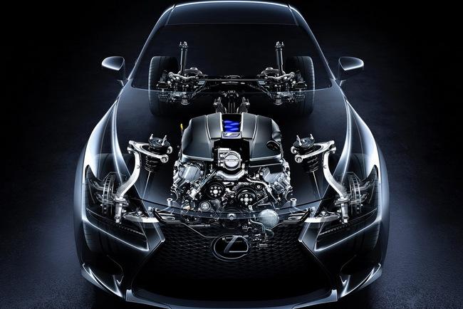 Lexus RC F Coupe trình làng tại Detroit Auto Show 18