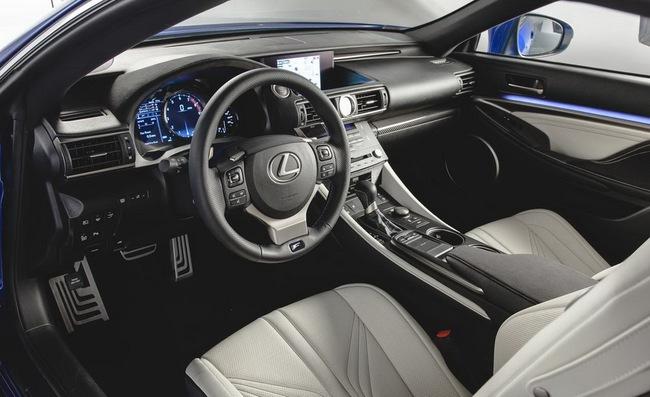 Lexus RC F Coupe chính thức trình làng 15