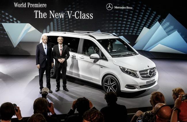 Mercedes-Benz V-Class: Sang trọng và hiện đại 1