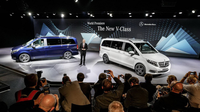 Mercedes-Benz V-Class: Sang trọng và hiện đại 2