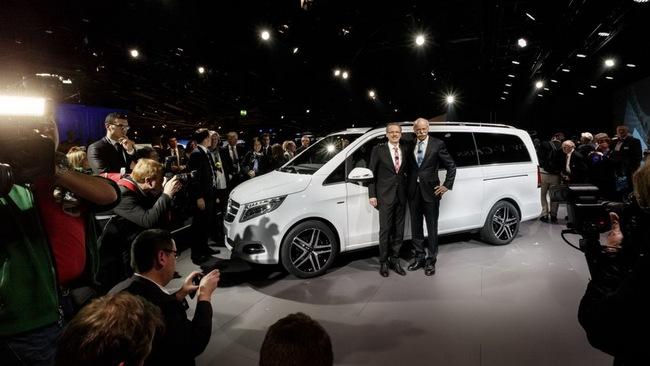 Mercedes-Benz V-Class: Sang trọng và hiện đại 3