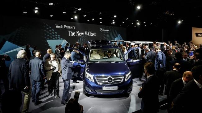 Mercedes-Benz V-Class: Sang trọng và hiện đại 4