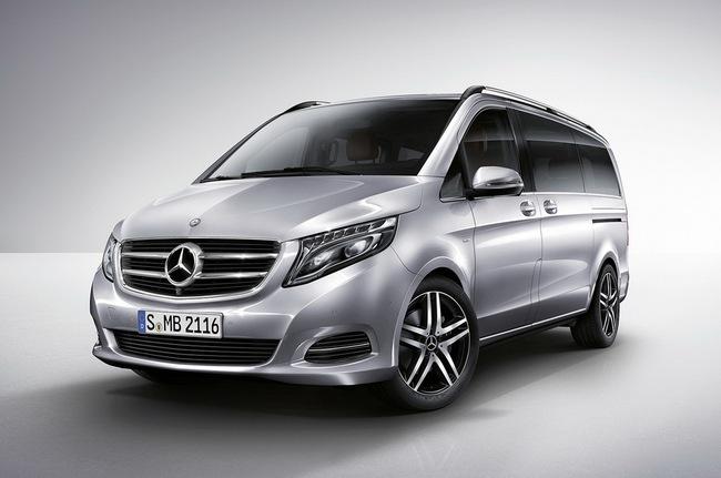Mercedes-Benz V-Class: Sang trọng và hiện đại 5