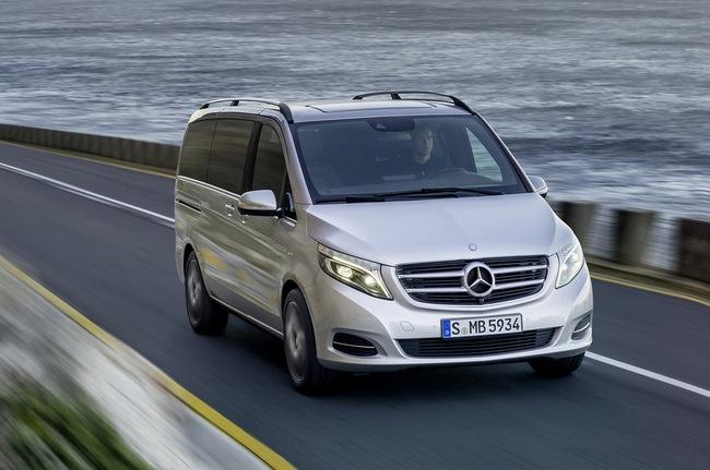 Mercedes-Benz V-Class: Sang trọng và hiện đại 7