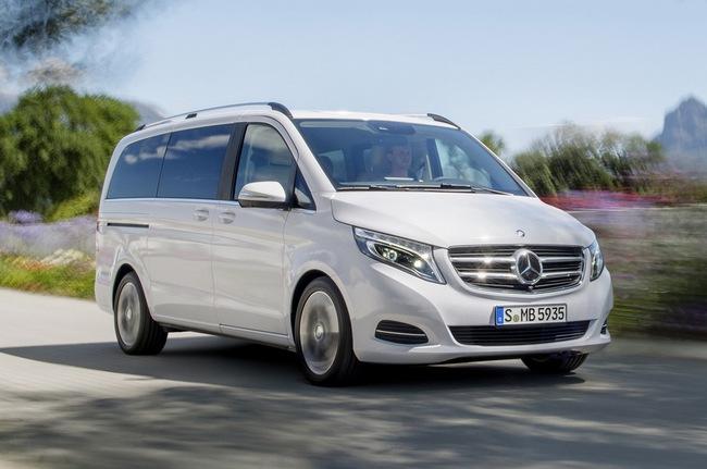 Mercedes-Benz V-Class: Sang trọng và hiện đại 9