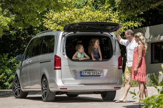 Mercedes-Benz V-Class: Sang trọng và hiện đại 10