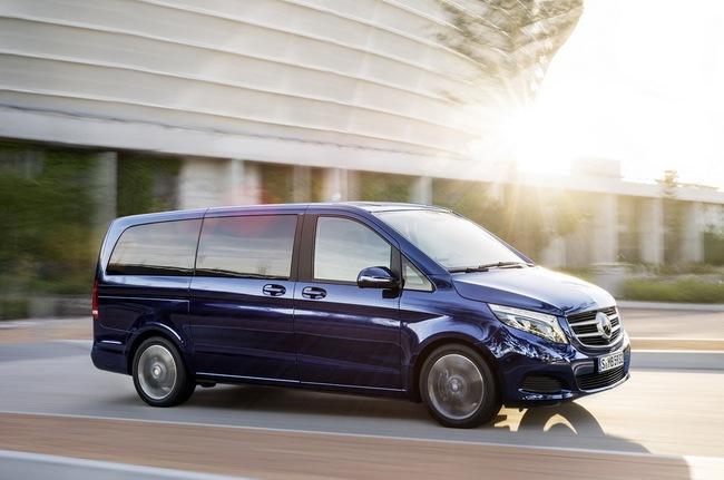 Mercedes-Benz V-Class: Sang trọng và hiện đại 11