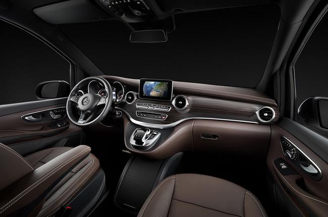 Mercedes-Benz V-Class: Sang trọng và hiện đại 14