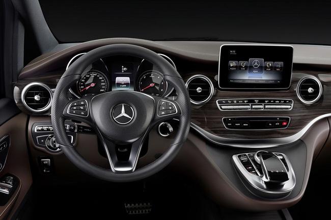 Mercedes-Benz V-Class: Sang trọng và hiện đại 15