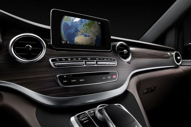 Mercedes-Benz V-Class: Sang trọng và hiện đại 16