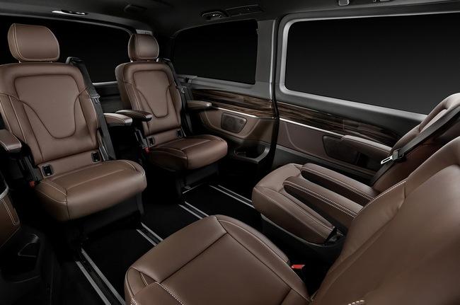 Mercedes-Benz V-Class: Sang trọng và hiện đại 18