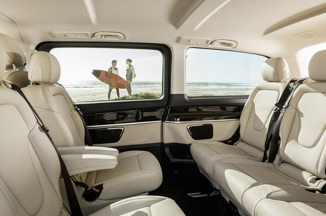 Mercedes-Benz V-Class: Sang trọng và hiện đại 19